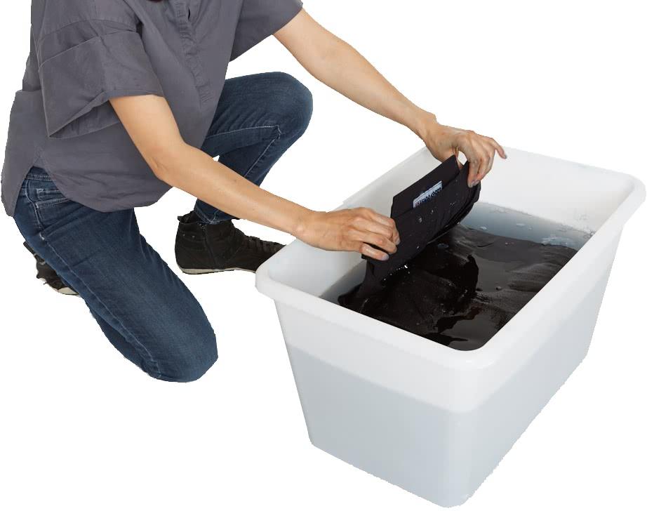 Hakama und Gi waschen 6