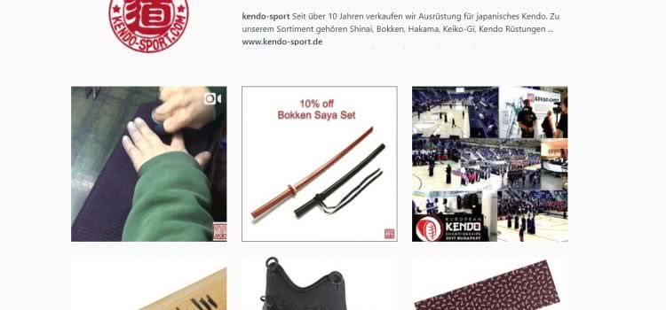 kendo-sport bei Instagram – Bilder und Videos zur Kendo-Ausrüstung