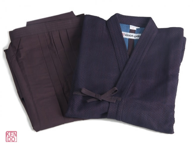 Set Gi and Hakma Deluxe blue #11000 cotton