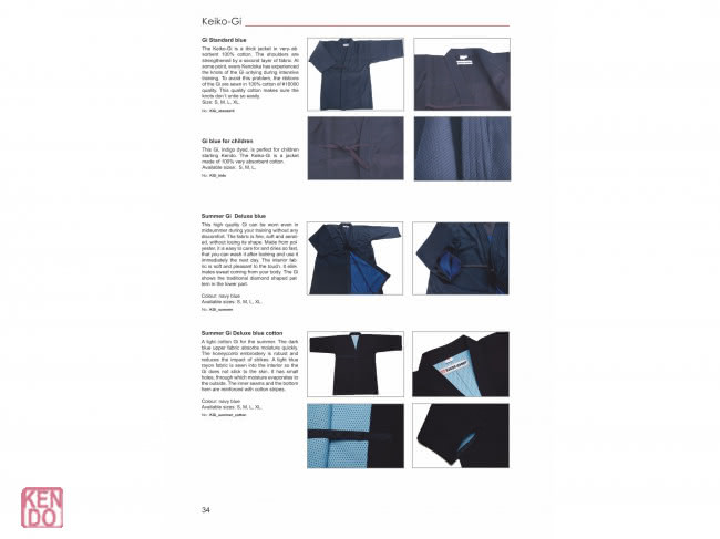 Catalog kendo-sport - english