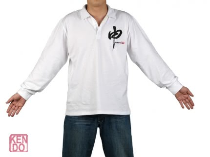 Poloshirt White with your animal emblem