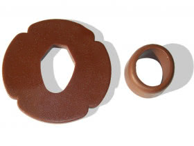 Tsuba and Tsubadome for Bokken